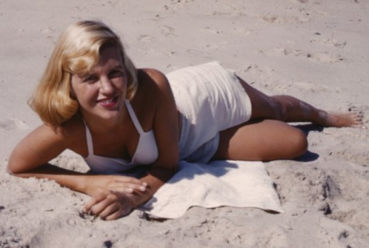 lameyer_00004-high-res.tiff ***MUST CREDIT SEE THE COPYRIGHT NOTICE*** Photo of Sylvia Plath from Gordon Ames Lameyer Papers probably from the Summer of 1953.